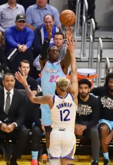 Golden State Warriors vs Miami Heat Photos by Guri Dhaliwal Martinez News-Gazette