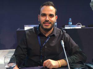 José Martínez Raya, durante el Congreso del EPP en Madrid (2015)
