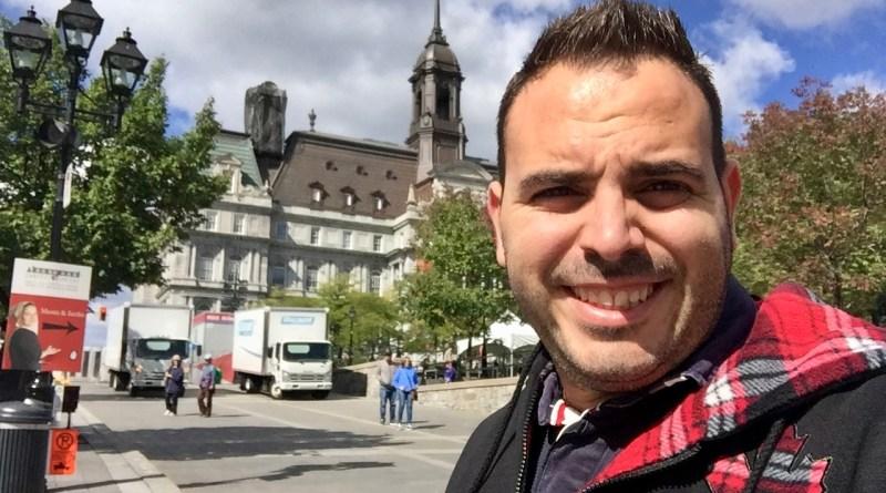 José Martínez Raya, en Montréal (Canadá)
