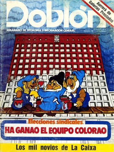 Portada de Doblón (5-07-75)
