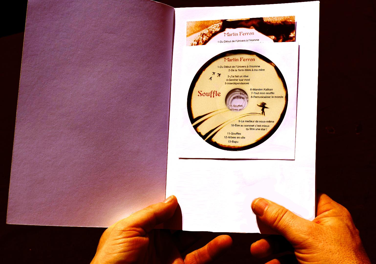 Livre-CD SOUFFLE Martin Ferron page 1