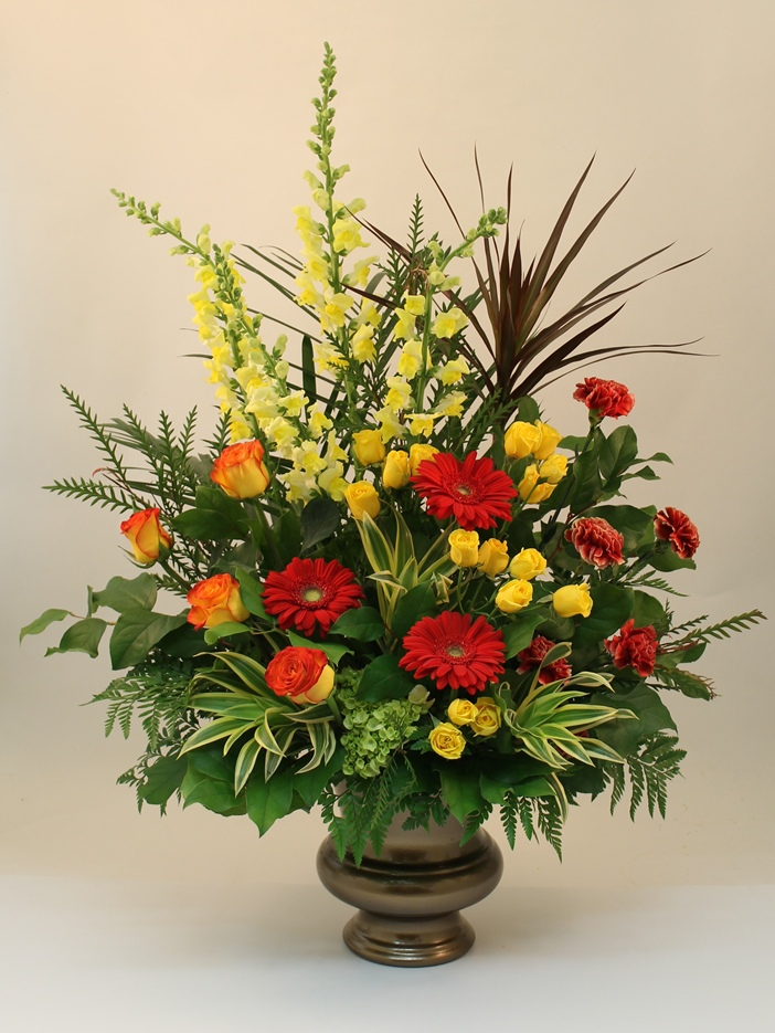 Flower Arrangements Created By Martins The Flower People
