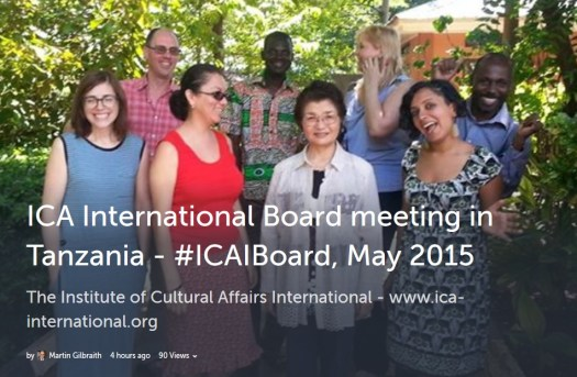 #ICAIBoard, May 2015 on Storify