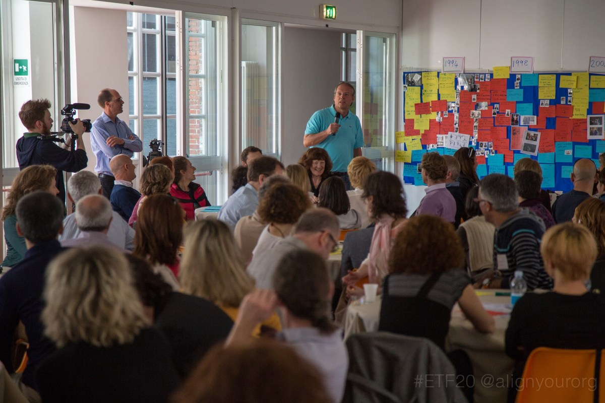 European Training Foundation, 2015 in Turin - photo Michael Ambjorn, facilitation Martin Gilbraith #ETF20