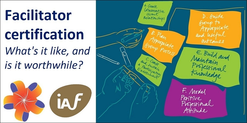 Free facilitation webinar - Facilitator certification #ToPfacilitation