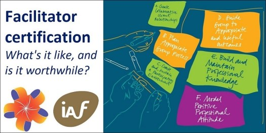 Free facilitation webinar: Facilitator certification - what's it like, and is it worthwhile?