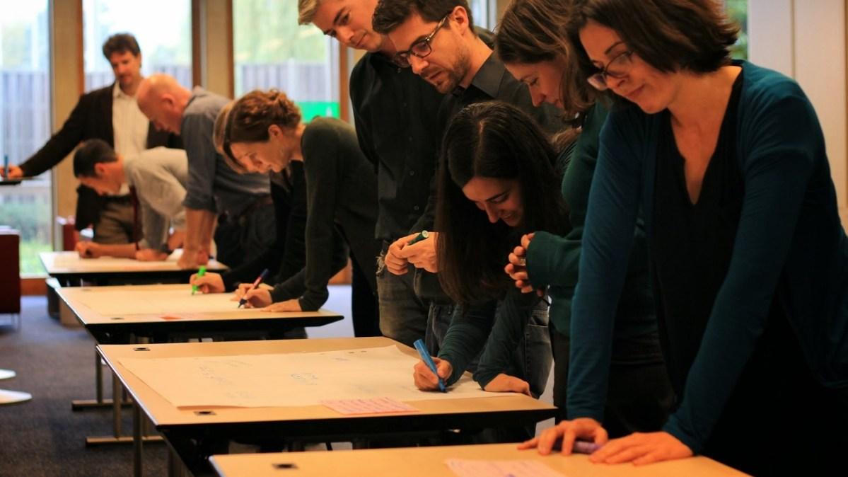 ToP Participatory Strategic Planning with IDMC, 2013 in Geneva - photo IDMC, facilitation Martin Gilbraith #ToPfacilitation 1