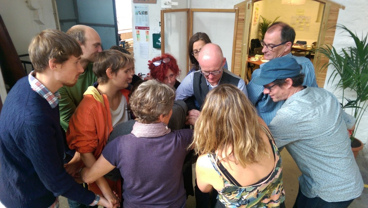 ToP Participatory Strategic planning with Edventure, 2015 in Frome - photo & facilitation Martin Gilbraith #ToPfacilitation 1
