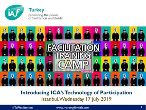 Introducing ICA's Technology of Participation with IAF Turkey