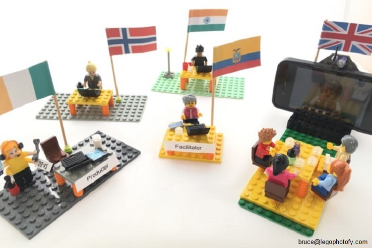 Facilitating Virtual Events I Online (photo: bruce@legophotofy.com)