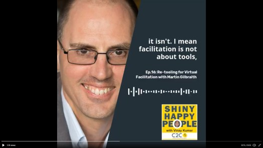 Re-Tooling for Virtual Facilitation - Shiny Happy People podcast