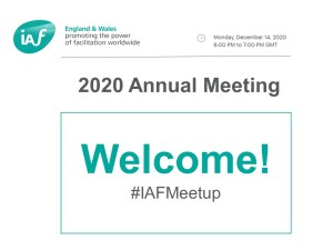 IAF England & Wales 2020 Annual Meeting