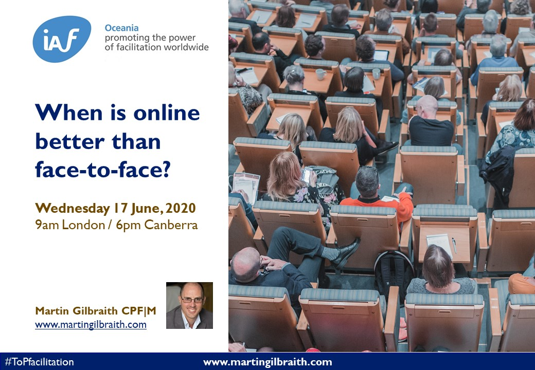 When is online better than face-to-face - slides