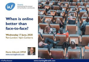 When is online better than face-to-face