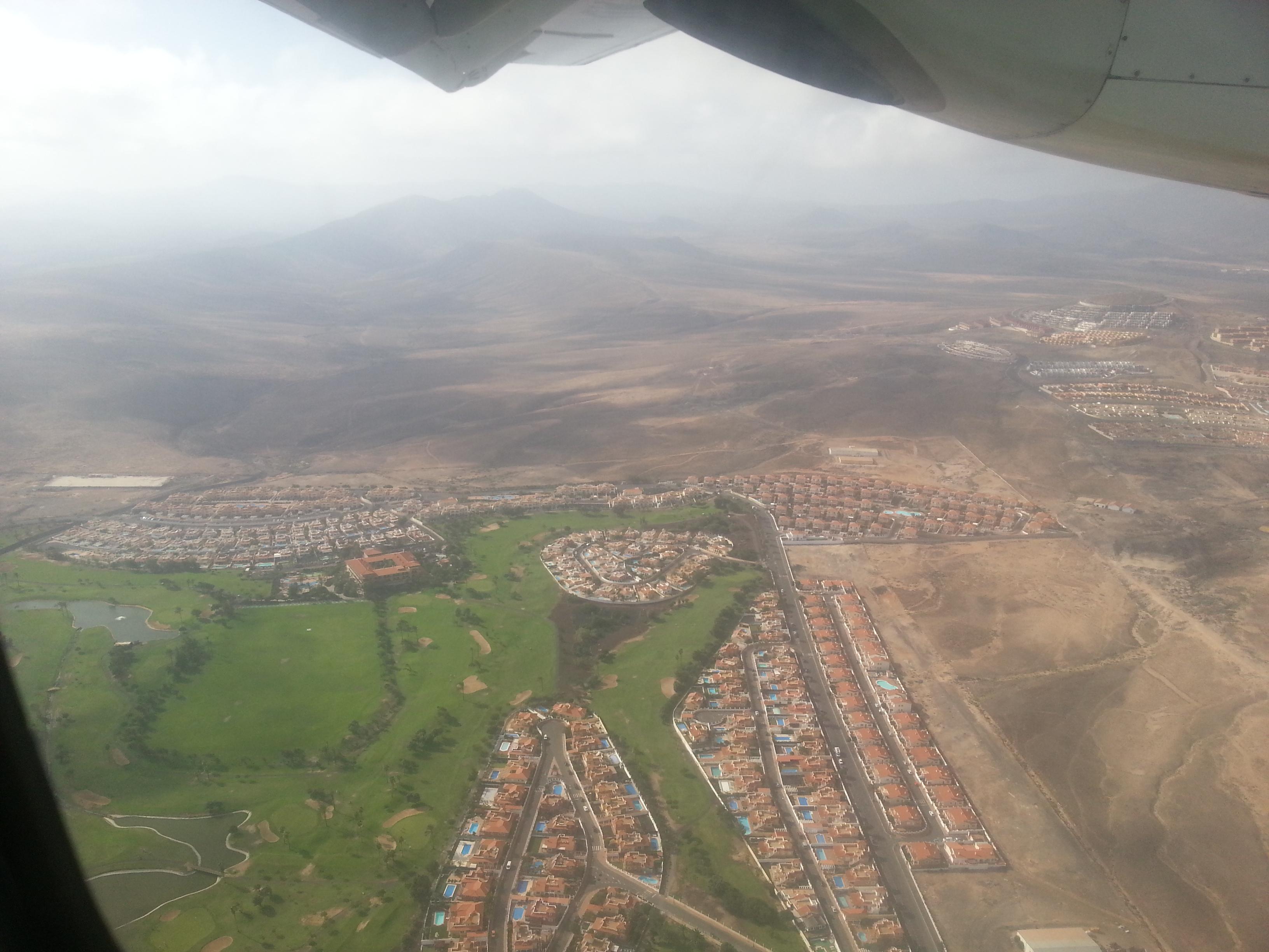 Arrival to Fuerteventura