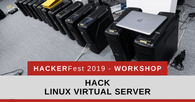 HackerFest 2019 Workshop Sample