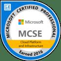 MCSE Cloud Platform and Infrastructure