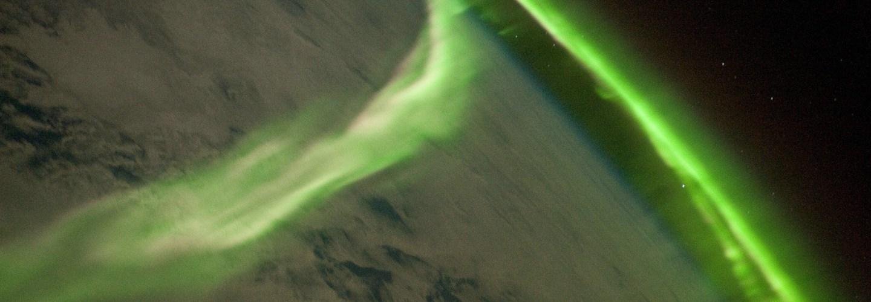 Sydsken, Aurora australis
