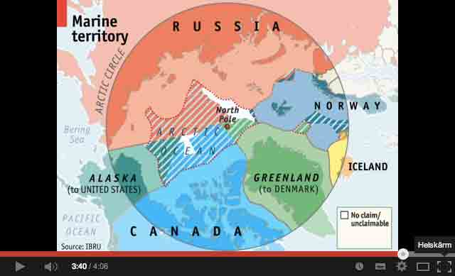 Arctic sea ice: climate change, oil and trade