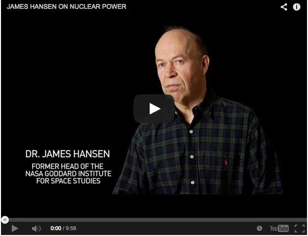 Jame Hansen on Nuclear energy