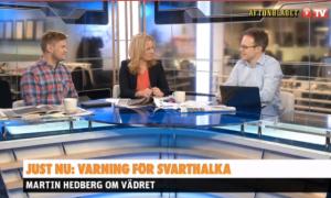 Väder i Aftonbladets Morgon-TV