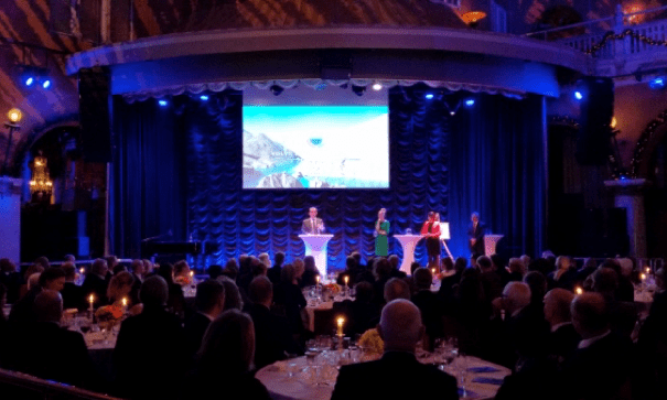Eric Lambin receives the Volvo Environment Prize