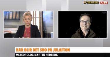 Martin Hedberg Live Aftonbladet TV