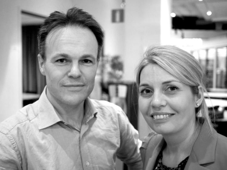 Martin Hedberg och Jessica Cederberg Wodmar