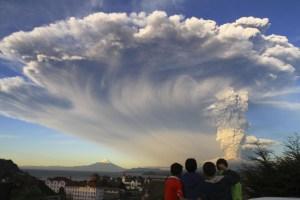 Vulkanutbrott i Chile, Calbuco