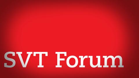 SVT Forum sändning om EU och klimat