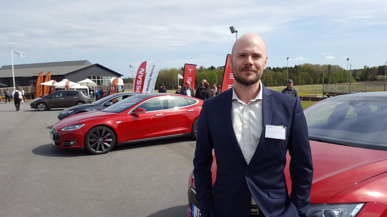 Expo för el- och hybridbilar