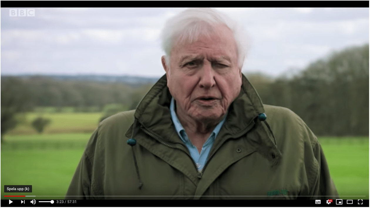 BBC klimatfilm med David Attenborough