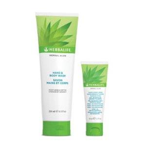 Herbal Aloe hånd - og kropssæbe - 250 ml