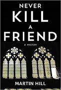 Never Kill A Friend, book cover