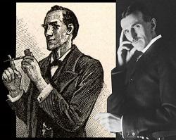 Sherlock Holmes and Nikola Tesla