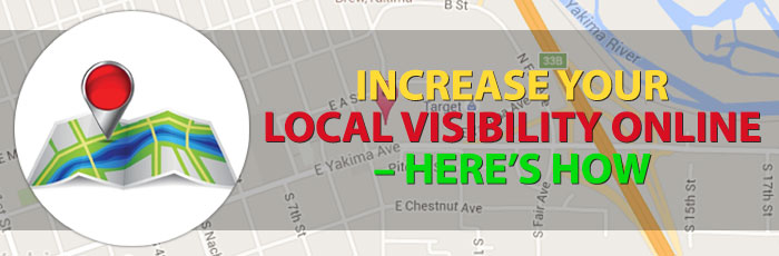 increase local visibility online