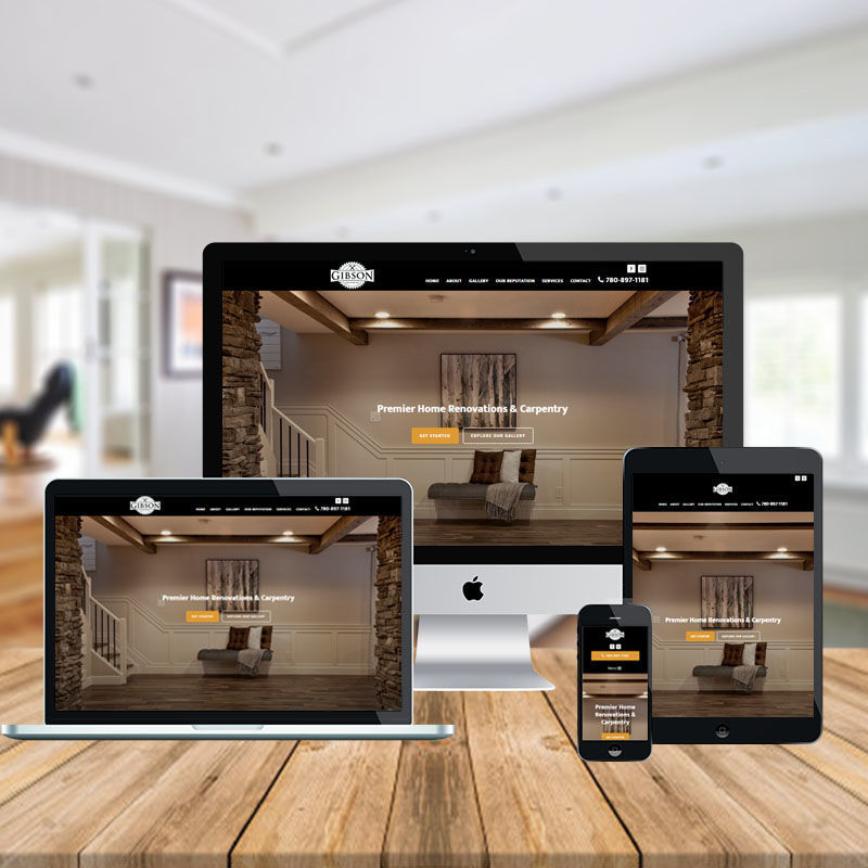 Gibson-Carpentry-mobile-responsive-website
