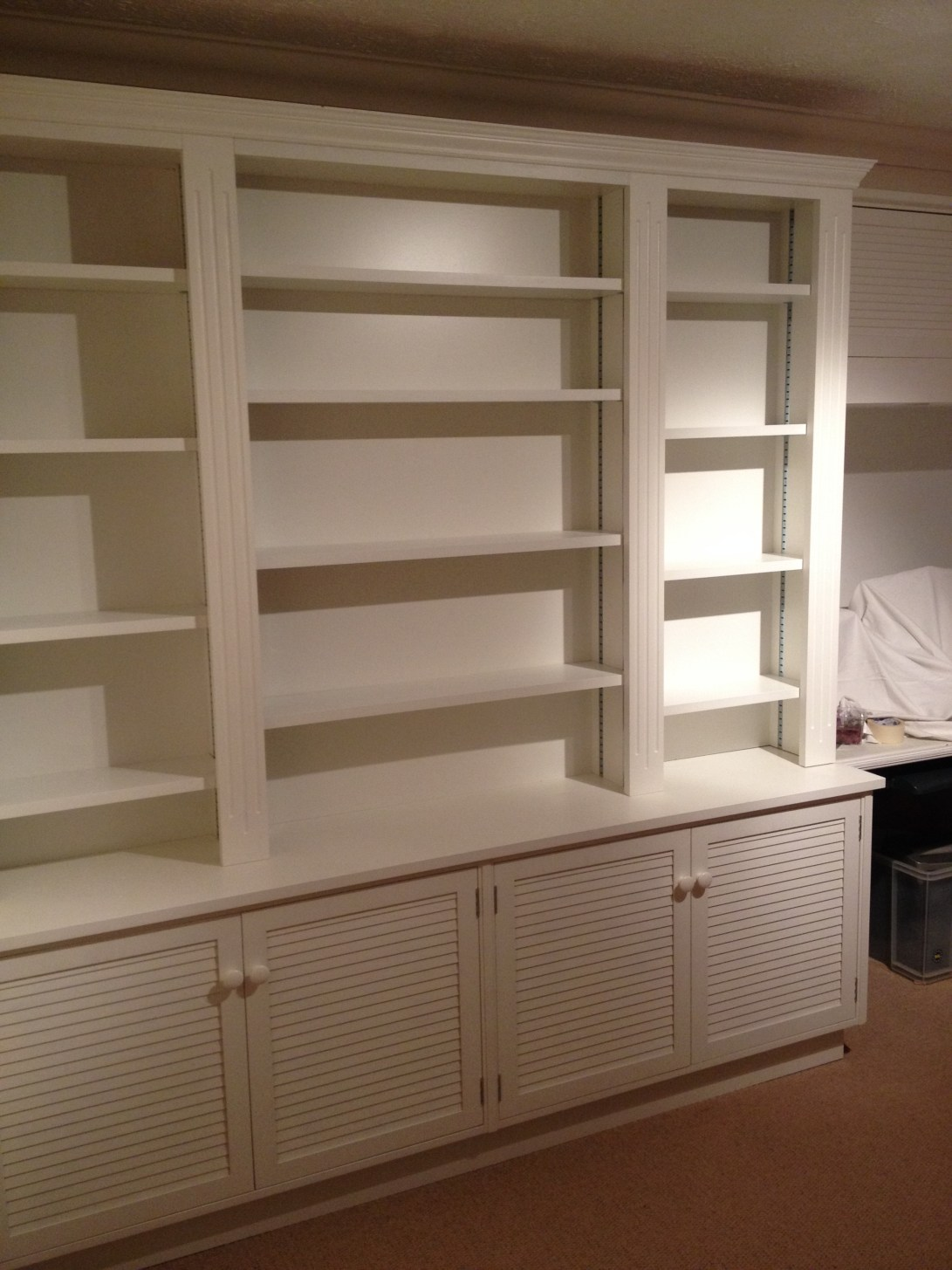 Study dresser unit finished in Farrow and Ball Paint