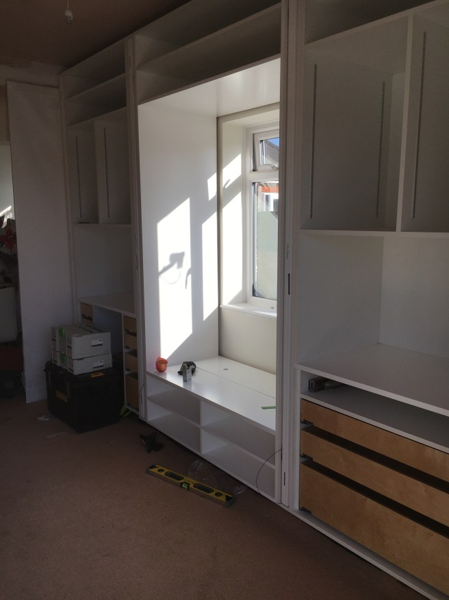 Fitting a large home office in Hassocks