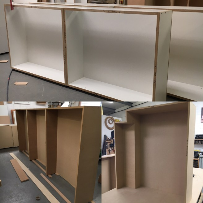 Making cabinets for home library