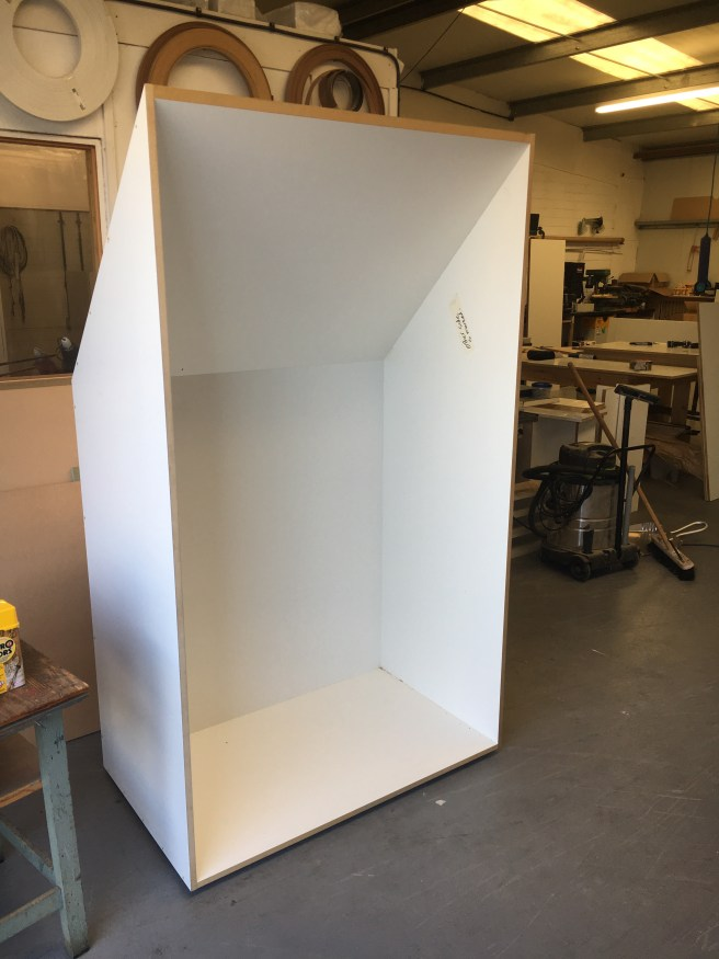 Large double wardrobe for loft space