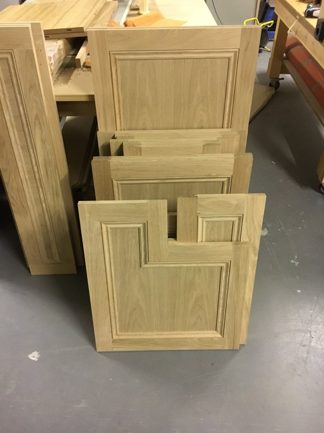 Solid kitchen doors