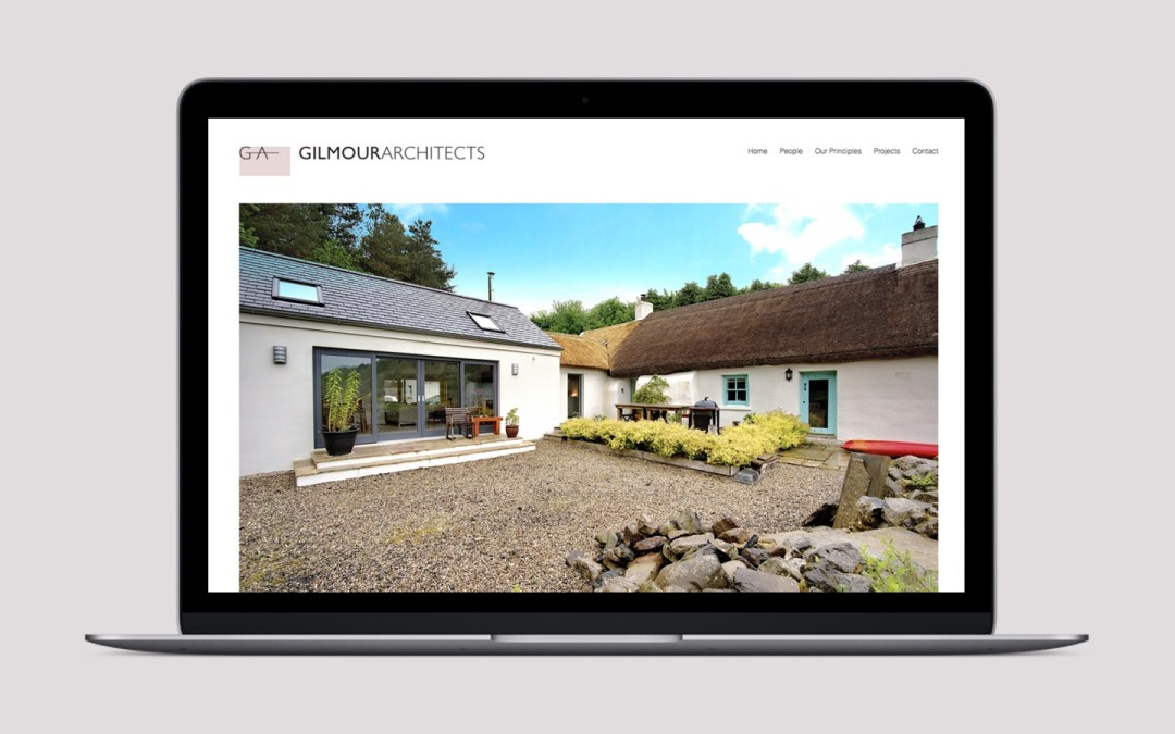 New website for Gilmour Architects