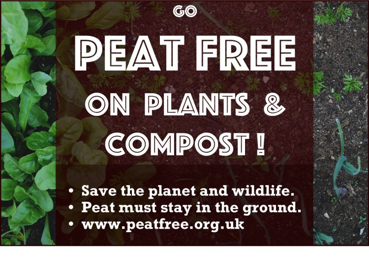 Switch to peat free compost to save peat bogs & combat climate change  Home Resources