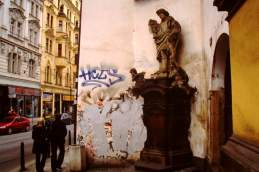 Ecke Prag Statue