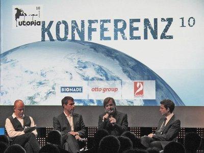 Moderation Utopia Konferenz 2010