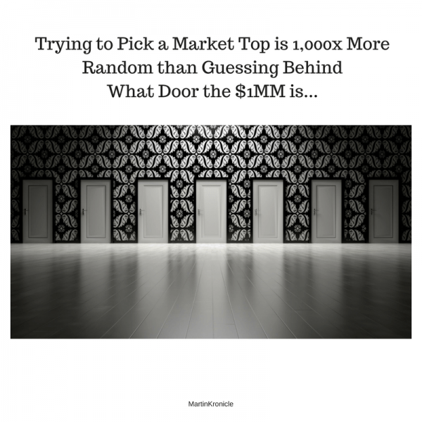 how to pick market tops