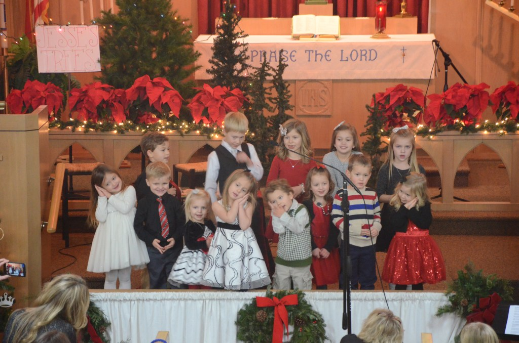 "Preschool/Kindergarten/First Grade:  ""See the Baby Jesus Sleeping on the Hay"""