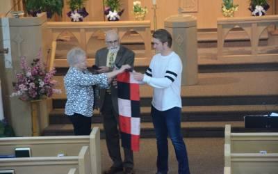 Graduate honored at MLC