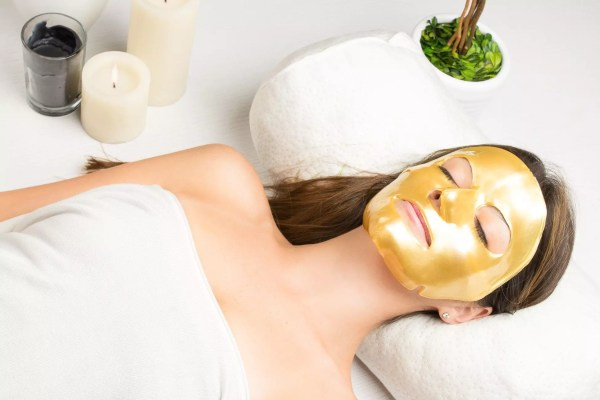 24K Gold Collage Facial Mask